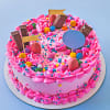 Pink Party Popper Cake (2 Kg)