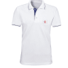 Premium Tipped Polo T-shirt with company logo