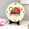 Gift Preppy hues New Year Clock