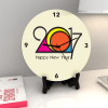 Preppy hues New Year Clock Online