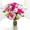 Romantic bouquet in pastel colours