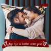 Romantic Personalized Cushion with Quote Online