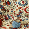 Shop Sanganeri Printed Cotton Stole with Tassels