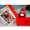 Sees Candies Truffles With Votive And Christmas Card