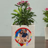 Buy Set Of 2 Personalized I Love You Ceramic Planters