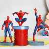Set of 3 Action Figures in Different Poses