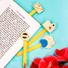 Gift Set of 4 Wooden Bookmarks