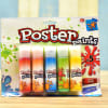 Set of 5 Poster Paints Online
