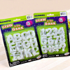 Set of Magnetic Glowing Numerals And Alphabets