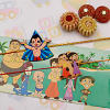 Set of Two Bal Krishna Kids Rakhi