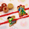 Set of Two Ben 10 Kids Rakhi