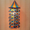 Seven Step Patch and Applique Work Lantern