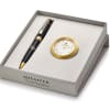 Sheaffer Luxury Pen And Table Clock Gift Set - Customised with Logo