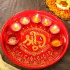 Shri Ganesha Painted Thali