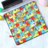 Buy Snakes & Ladders Game Board Coasters with Accessories & Personalized Holder