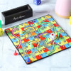 Snakes & Ladders Game Board Coasters with Accessories & Personalized Holder
