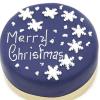 Snowflake Christmas 10 inches Cake