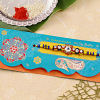 Sparkling Colorful Beaded Rakhi