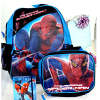 Spider Man Backpack With Lunch Kit and Diary