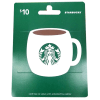 Starbucks $10 Gift Card