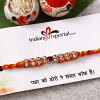 Stone Work  Rakhi Thread