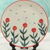 Shop Stoneware Floral Dinner Plate