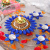 Stylish Flower Pattern Floating Diyas