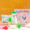 Summer Essentials Personalized Baby Shower Hamper