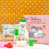 Summer Essentials Personalized Hamper for Newborns