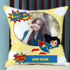 Super Girl Personalized Birthday Cushion