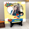 Super Girl Personalized Birthday Tile