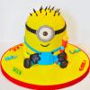 Sweet Minion Fondant Cake (Eggless) (4 Kg)