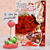 SweetHeart Love Card with Froggy Love Showpiece
