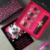 Sweetness Hamper for Mom with Personalized Card Online