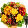 Sympathy Bouquet Memories with grave vase