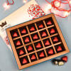Tempting Dark Chocolates 20 Pcs in Lovable Gift Box