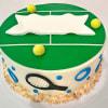 Tennis Court Fondant Cake (4 Kg) Online