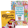 The Cheesecake Factory $25 Gift Card with Birthday Greeting Card