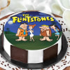 The Flintstones Family Friends Cake (Half Kg)