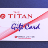 Titan  Gift Card - Rs. 500