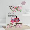 Together We are One Personalized Valentine Greeting Card
