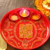 Traditional Ganesha Pooja Thali