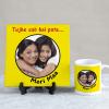 Tujhe Sab Hai Pata Maa Personalized Tile & Mug