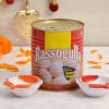 Two Earthen Diyas With Rassogulla 1 Kg