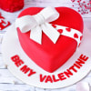 Valentine Heart Gift Cake (Eggless) (3Kg)