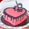 Valentine Strawberry Heart Cake (Half Kg)