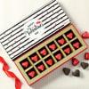 Valentines Day Heart Shaped Dark Chocolates Online