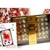 VSC 40 Liquor Filled Chocolates with Christmas Card