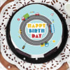 Buy Wheels On GO Birthday Cake (Eggless) (1 Kg)