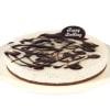 whitecream chocolate cake